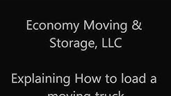 How to Pack or Load a Moving Truck, POD, or Storage Unit
