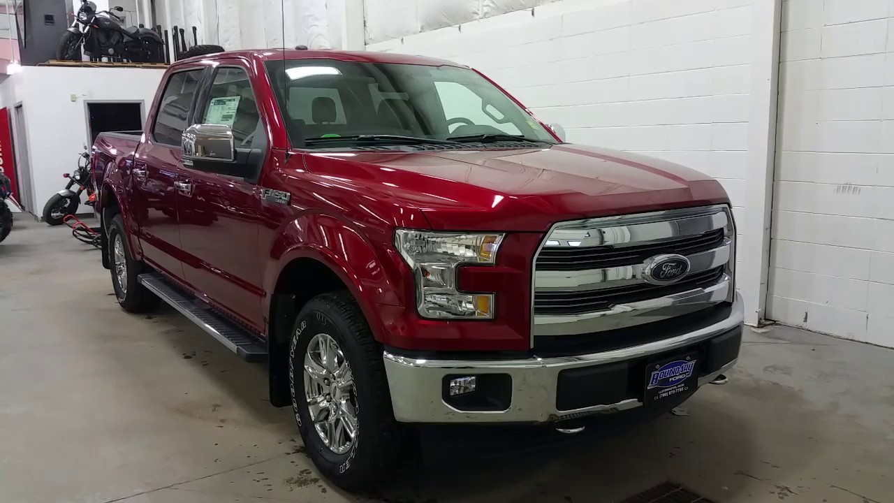 2017 Ford F 150 Lariat >> 2017 Ford F-150 Supercrew Lariat W/ Chrome Package, 18 ...