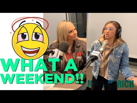 In-Studio Videos - Johnjay Talks To Lisa Vanderpump & Delaney ALMOST Met Post Malone...