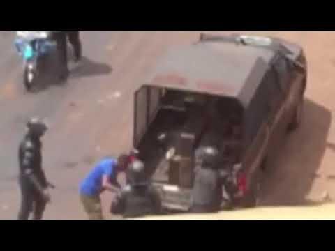 Vidéos : des policiers guinéens filmés à leur insu en pleine scène d'humiliation