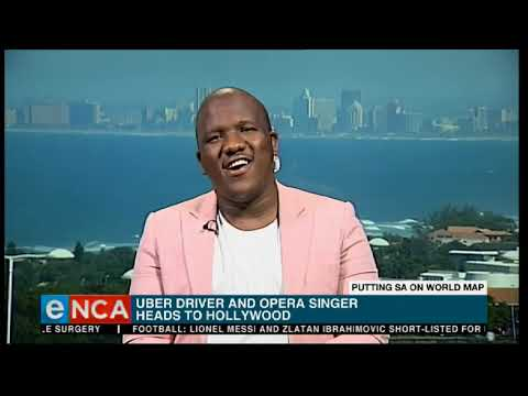 South African uber driver and opera singer heads to Hollywood
