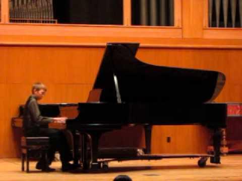 Nicholas Brainard plays Waltz in A minor by Chopin