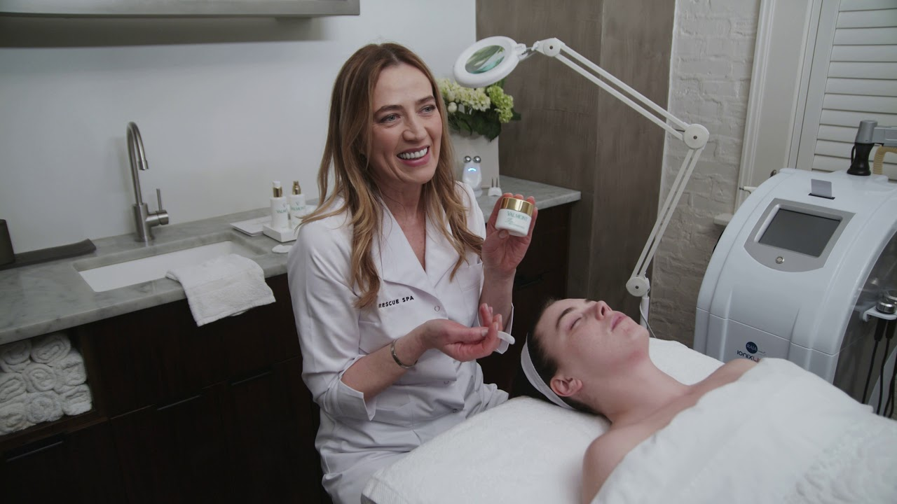Back To Basics: Valmont Facial with Danuta Mieloch