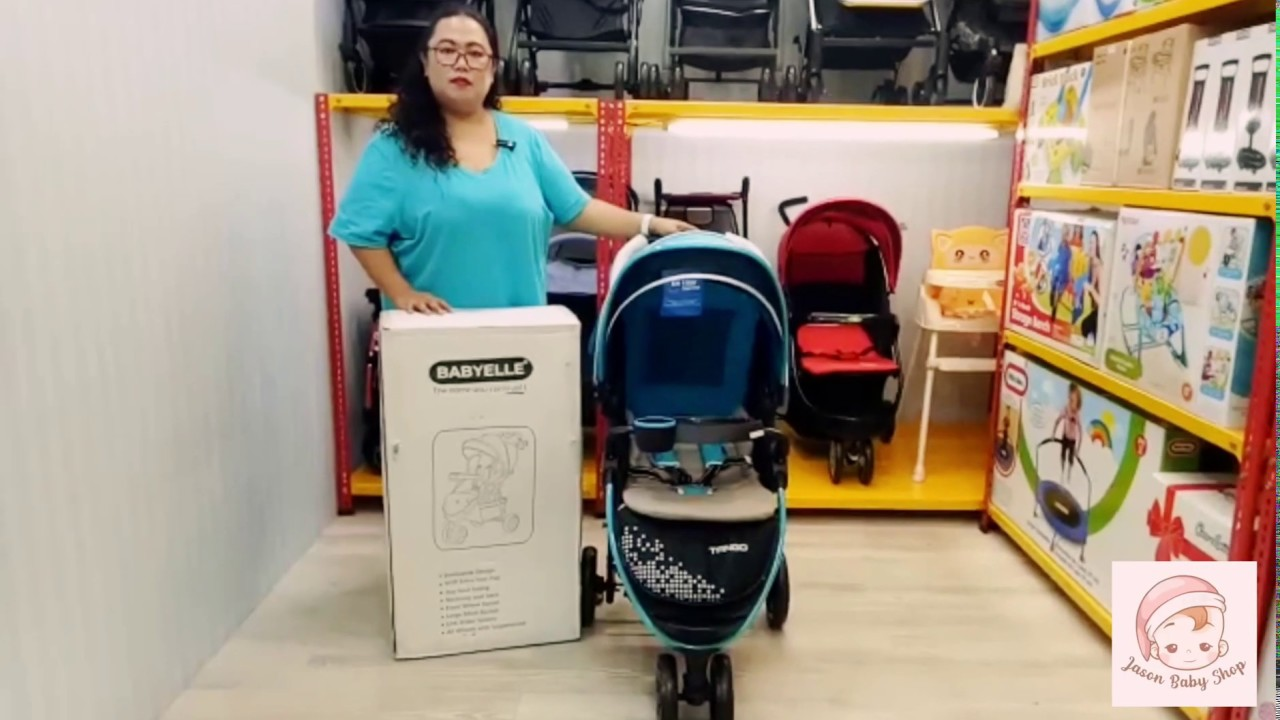 Review Stroller Baby Elle Tango - YouTube