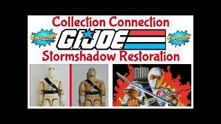 GI Joe 1984 Storm Shadow restoration by Collection Connection
