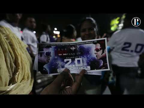 Fervor por el estreno de 2 0, la película india más cara de la historia