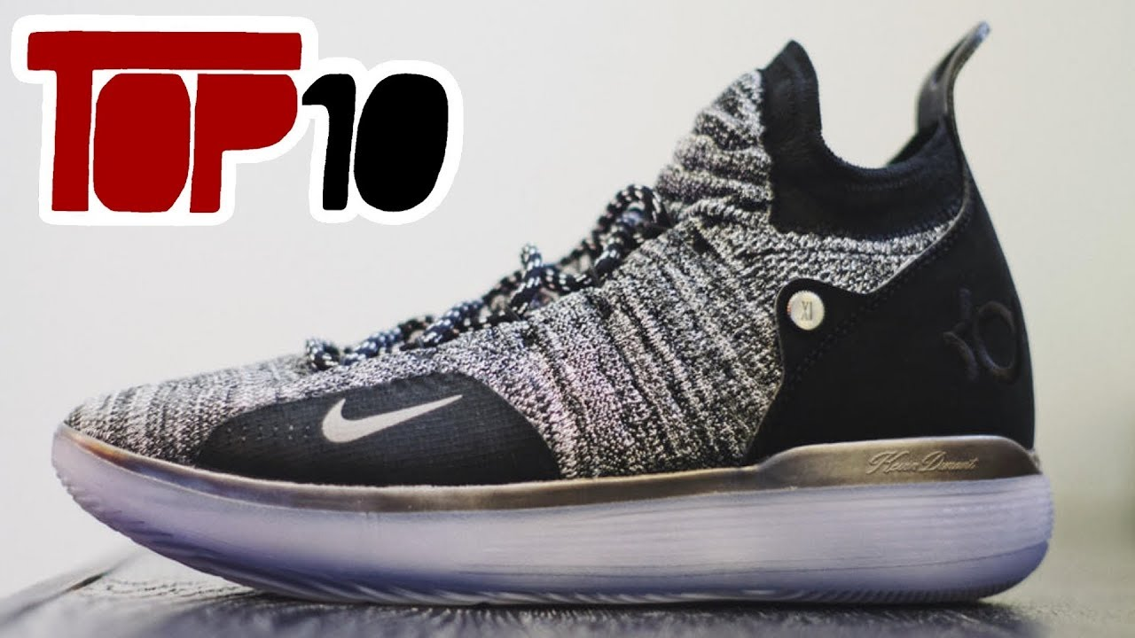 Top 10 Basketball Shoes Of 2018 With