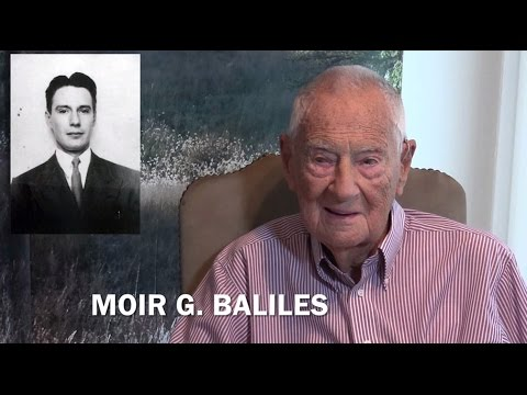 An interview with 100 year old Virginian, Moir G. Baliles