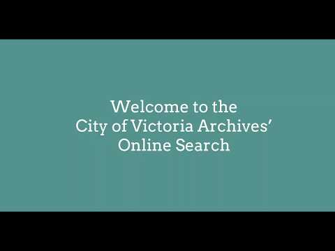 Introduction to the Archives Online Search