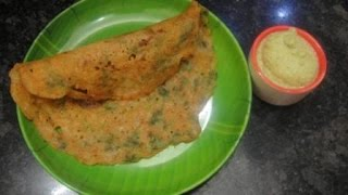 Spice Dosa A easy and tasty recipe..Suits for evening tiffen and ni...