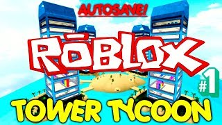 Roblox Tower Tycoon & Tutorial #1 (Android/IOS)