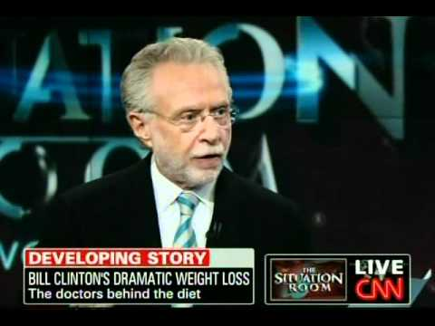 Interview of Doctors whos diet Bill Clinton used that changed his life.