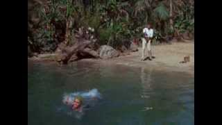 Mary ann gets stripped naked on gilligans island