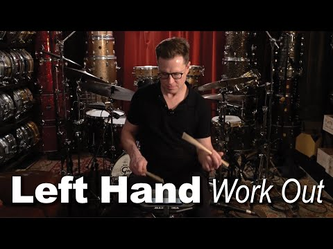 Left Hand (Weak Hand) Work Out: Drum Lesson | Stanton Moore