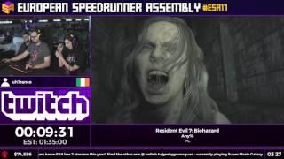 #ESA17 Speedruns - Resident Evil 7: Biohazard [Any%] by uhTrance