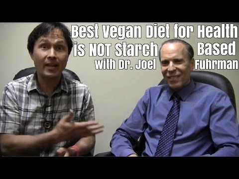 Best Vegan Diet for Health is Not Starch Based with Dr. Joel Fuhrman