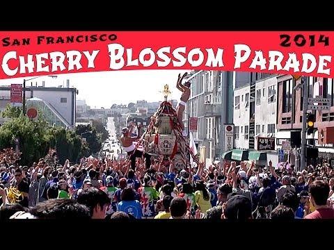 Cherry Blossom Festival Parade 2014 San Francisco (compilation)
