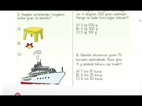 3. Sınıf - Matematik : Test Çöz !