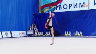 Полина Шматко - мяч // Надежды России Пенза 2015