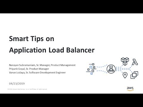 Application Load Balancers: Advanced Request Routing, Lambda as a Target,  and User Authentication