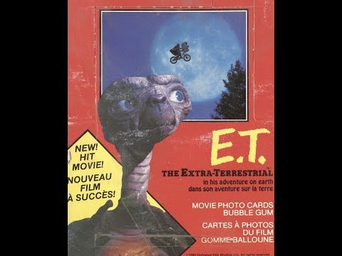 Box Busters: 1982 OPC E.T. the Extra-Terrestial