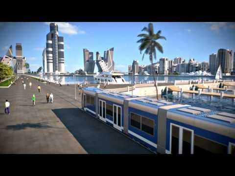 Khazar Islands New City 3D