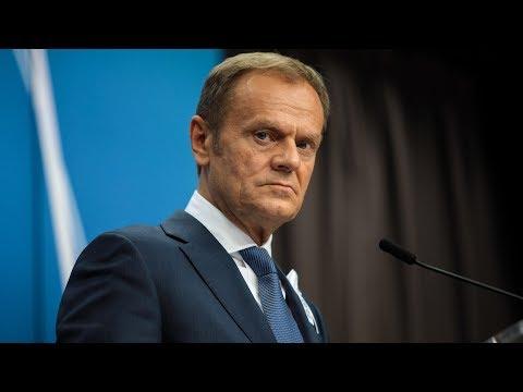 Watch European Council president Donald Tusk's statement at the Salzburg summit