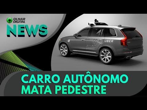 Carro autônomo da Uber mata pedestre nos EUA | OD News - 19/03/2018