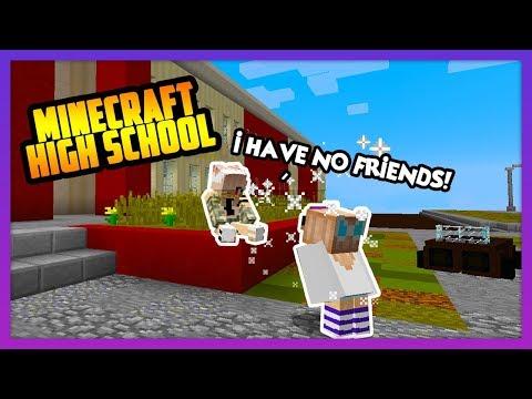 HELPING THE NEW KIDS MAKE FRIENDS! - Minecraft High School