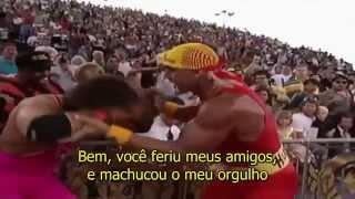 WWE Hulk Hogan Theme Song - Legendado em Português [PT-BR] - Real American