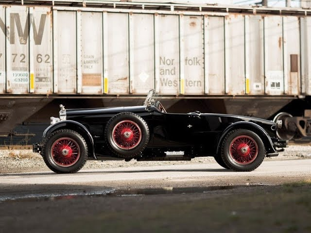 1927 Stutz Vertical Eight Custom Black Hawk Two Passenger Speedster by Robbins