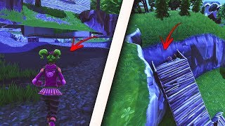*NEW* GET FULLY UNDER SALTY SPRINGS USING THIS INSANE GLITCH - SECRET FORTNITE GLITCHES 2018