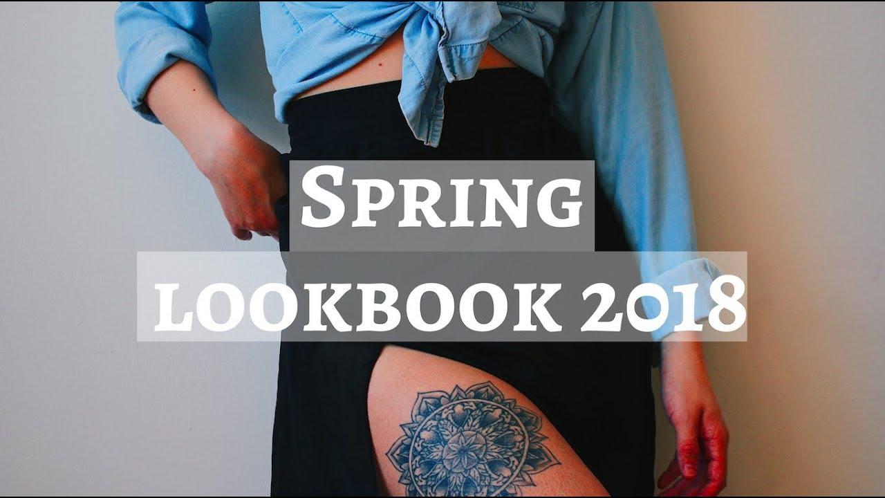SPRING LOOKBOOK 2018 ☽ THRIFTED + BOHO INSPIRED