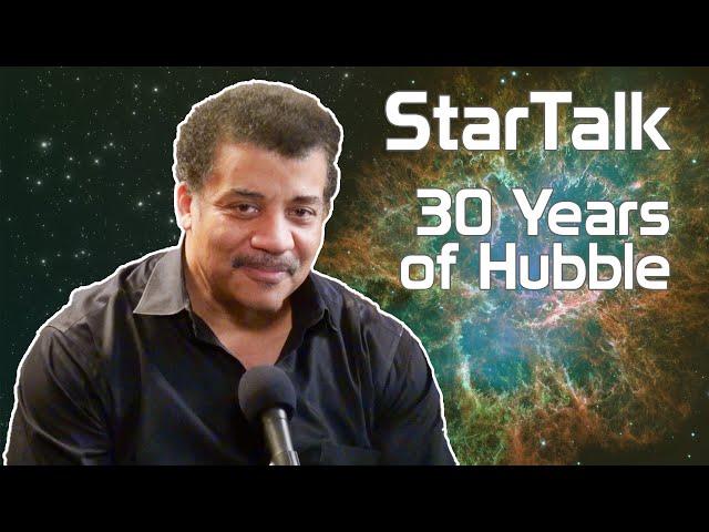 Neil deGrasse Tyson Celebrates the Hubble Space Telescope's 30th Anniversary
