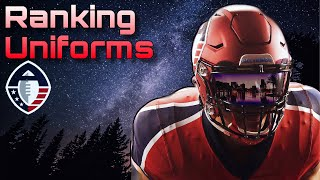 Alliance of American Football Uniform Ranking