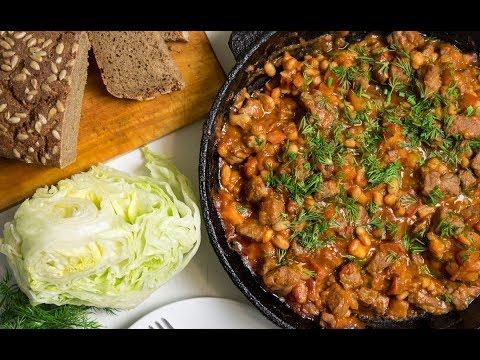 Мясо с фасолью в томатном соусе Рецепты из Инстаграма