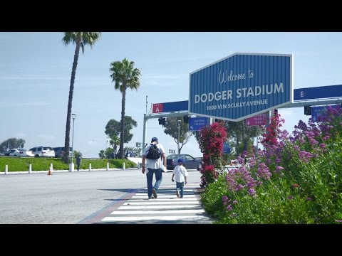 Opening Day at Dodger Stadium