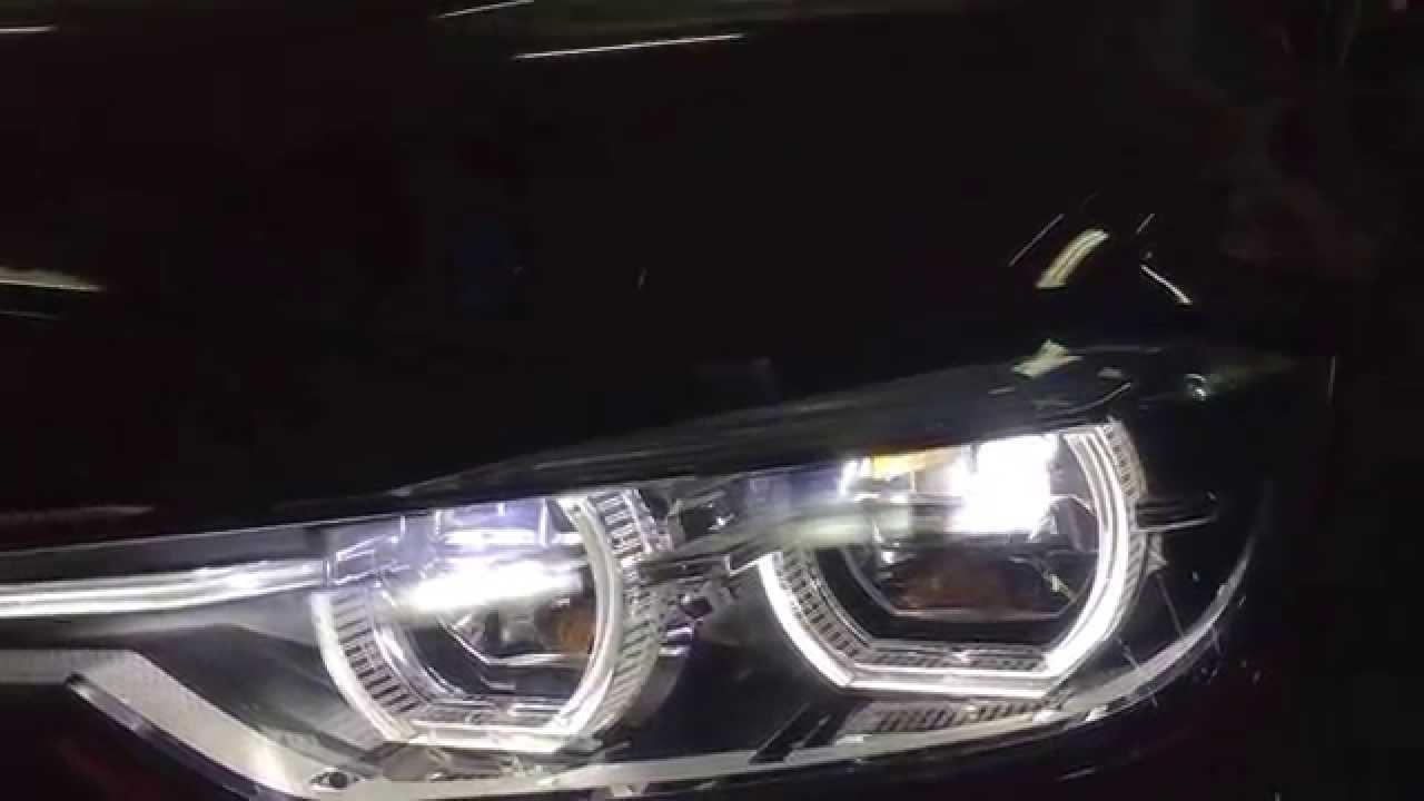 Auto S Only Bmw F30 Adaptive Led Headlights Retrofit Youtube