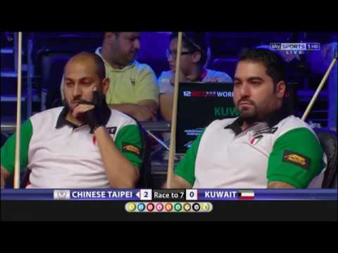 Chinese Taipei vs Kuwait, World Cup Of Pool 2017 R1