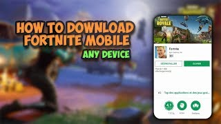 download fortnite android free - fortnite android - download fortnite apk (fortnite apk download)