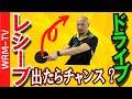 【元中国1位】最もサーブの長短を見極めてレシーブドライブをするコツ【卓球知恵袋】 中国卓球 孟コーチ 回転