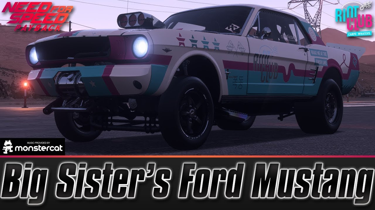 Need For Speed Payback Big Sister S Ford Mustang 1965