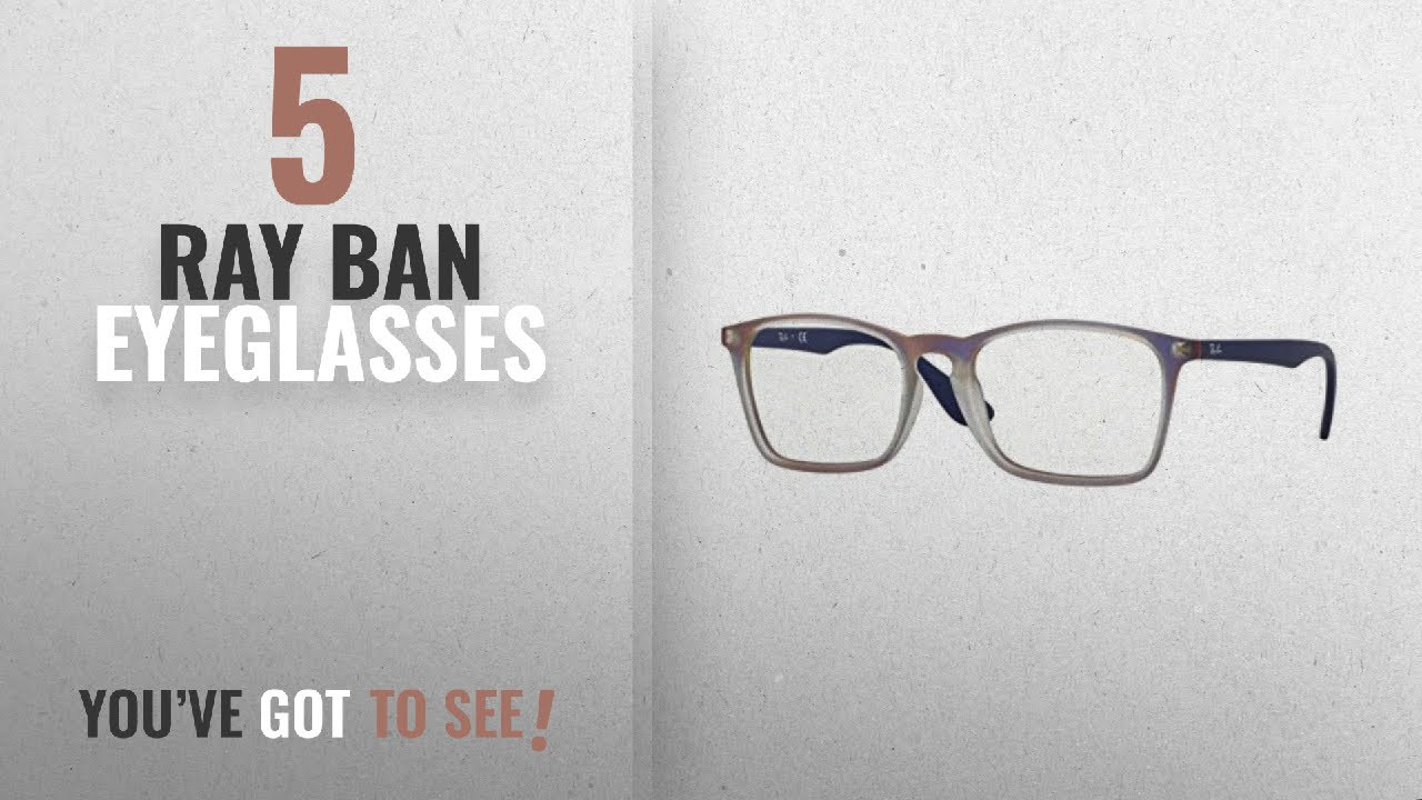 20279df39c Top 10 Ray Ban Eyeglasses   Winter 2018    RAY-BAN RX7045F - 5486 ...