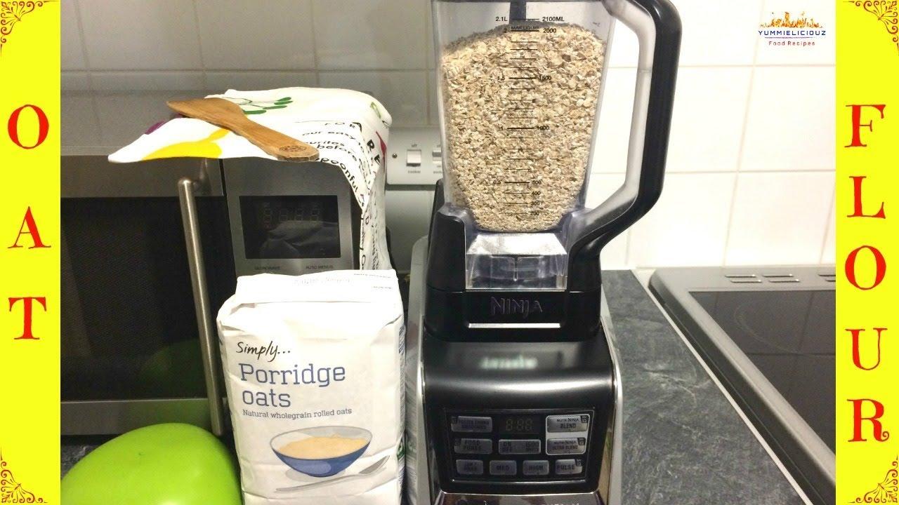 How To Make Oat Flour Homemade Oat Flour Health Benefits