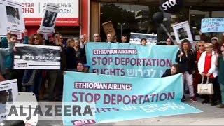 🇮🇱 African refugees on hunger strike in Israel