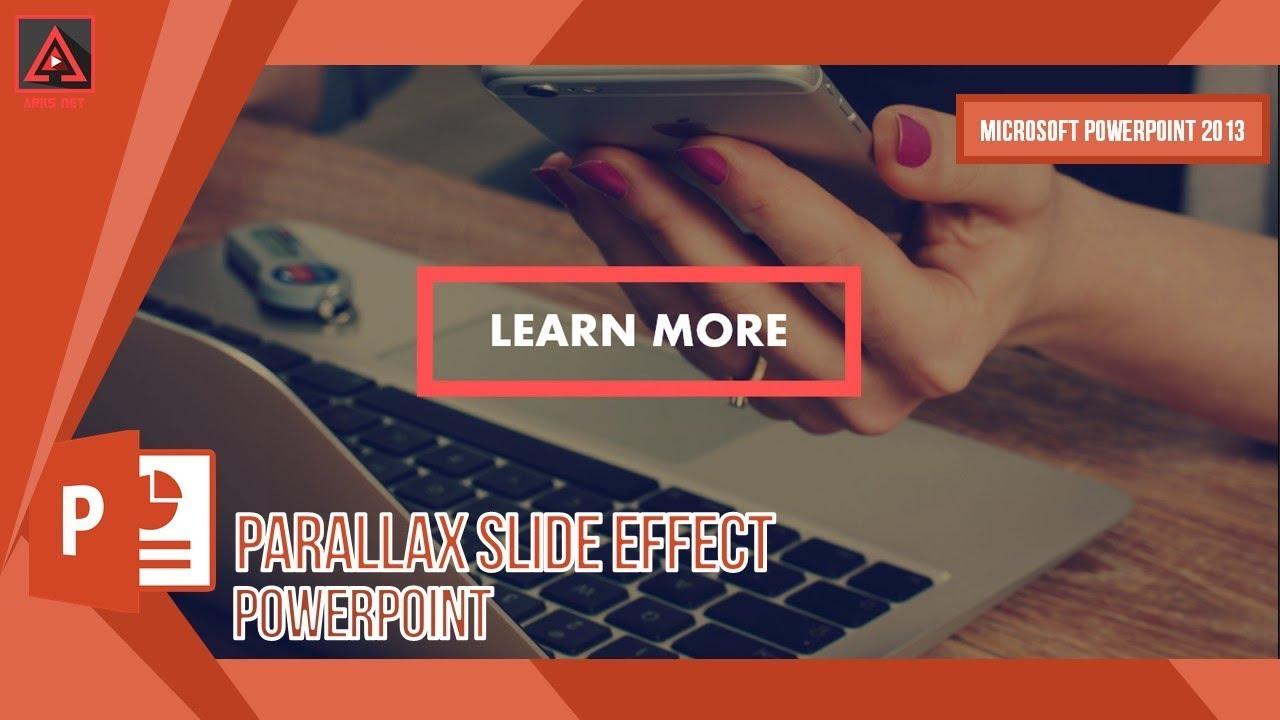 parallax powerpoint theme