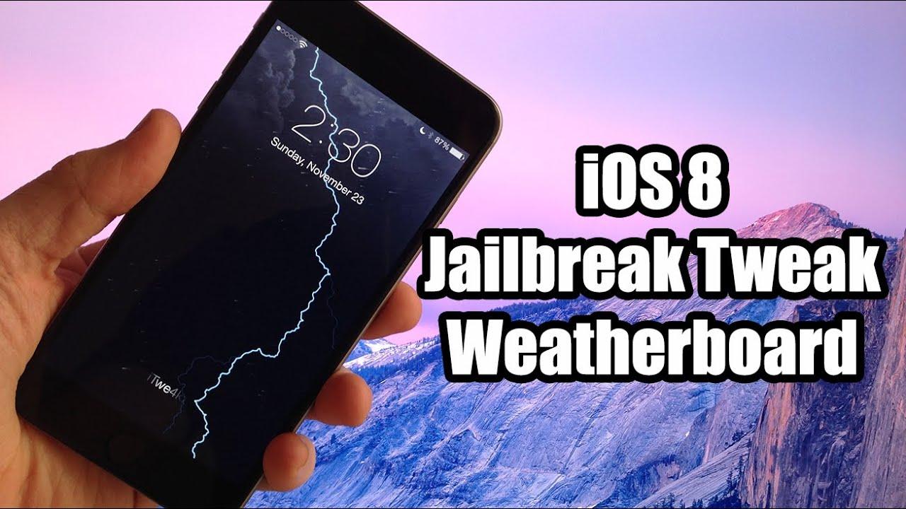 Ios 8 dynamic wallpaper jailbreak tweak weatherboard - Jailbreak wallpaper ...