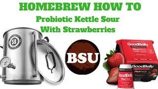 All Grain Strawberry Kettle Sour w/ Goodbelly Probiotics