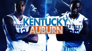 Kentucky Wildcats TV: Auburn 75 Kentucky110