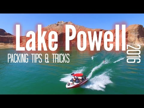 Lake Powell Packing Tips